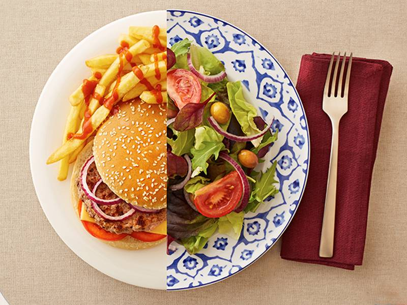 رژیم غذایی برای تری گلیسیرید بالا