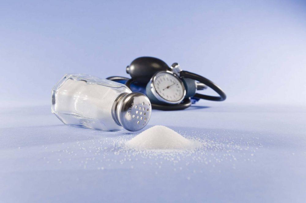 رابطه فشار خون و نمک