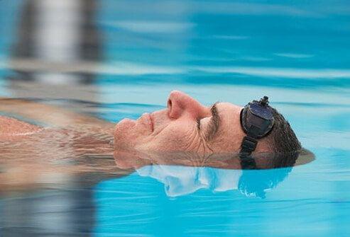 شنا برای فشار خون بالا