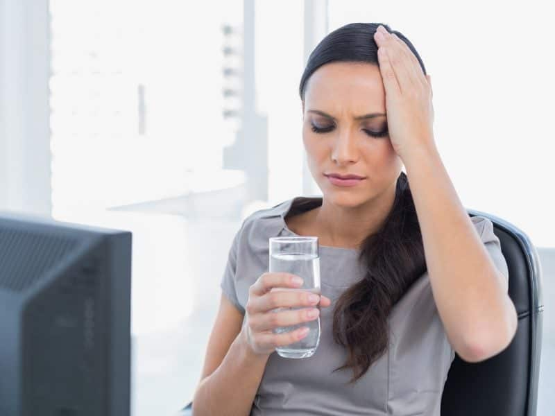 کم آب شدن بدن